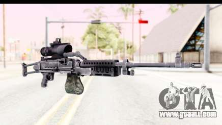 M240 FSK No Bipod for GTA San Andreas
