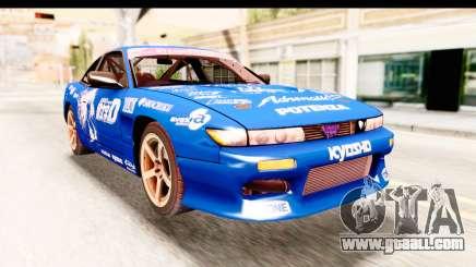 Nissan Sileighty 2015 D1GP for GTA San Andreas