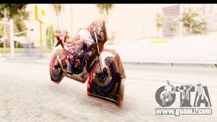 Yamaha MT-25 (MT-03) for GTA San Andreas