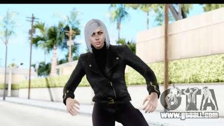 GTA 5 Ill Gotten-Gains DLC Female Skin for GTA San Andreas