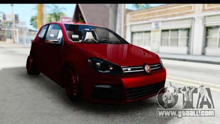 Volkswagen Golf R for GTA San Andreas
