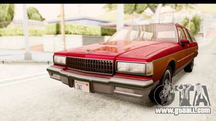 Chevrolet Caprice 1989 Station Wagon IVF for GTA San Andreas