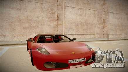 Ferrari F430 Spider for GTA San Andreas