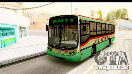 Metalpar Tronador 2 Puertas ETCE GTA Micros Arg for GTA San Andreas