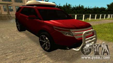 Ford Explorer 2013 for GTA San Andreas