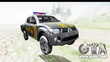 Mitsubishi L200 Indonesian Police for GTA San Andreas