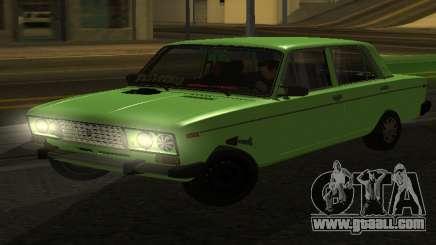 VAZ 2106 for GVR for GTA San Andreas