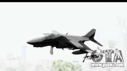 MGSV Phantom Pain Hydra v2 for GTA San Andreas