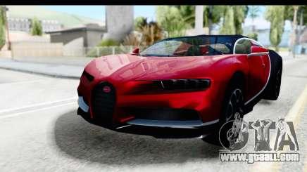 Bugatti Chiron 2017 v2 for GTA San Andreas
