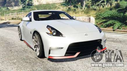 Nissan 370Z Nismo Z34 2016 [replace] for GTA 5
