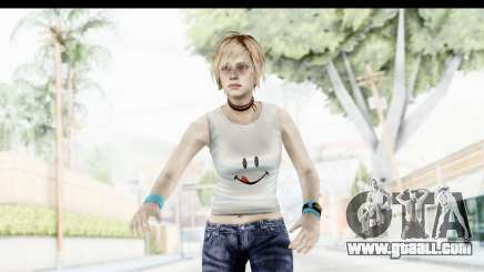 Silent Hill 3 - Heather Sporty White Delicious for GTA San Andreas