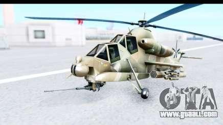 Denel AH-2 Rooivalk for GTA San Andreas