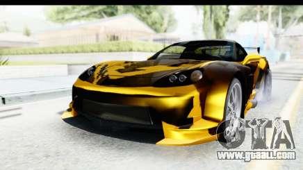 NFS Carbon Chevrolet Corvette for GTA San Andreas