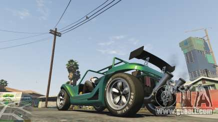 Slicks tyres for GTA 5