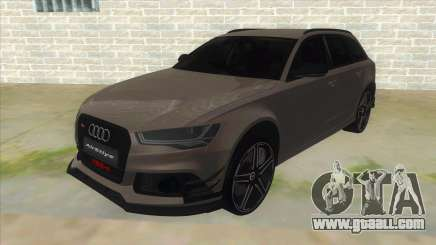Audi RS6-R for GTA San Andreas