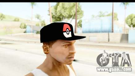 Cap Pokemon Pokeball for GTA San Andreas