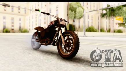 GTA 5 Western Cliffhanger Custom v2 for GTA San Andreas