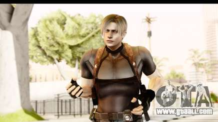 Resident Evil 4 Ultimate - Leon S. Kennedy for GTA San Andreas