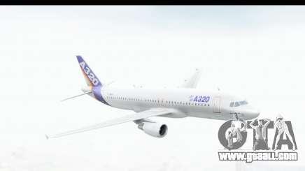 Airbus A320-200 Industrie MSN 1 1987 First Fligh for GTA San Andreas