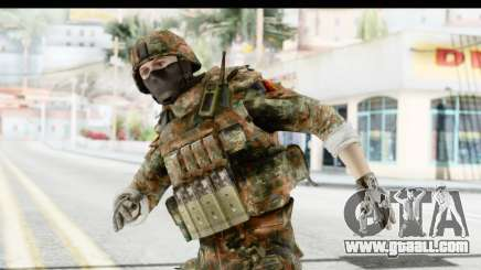 Global Warfare Germany for GTA San Andreas