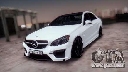 Mercedes-Benz E63 GSC for GTA San Andreas