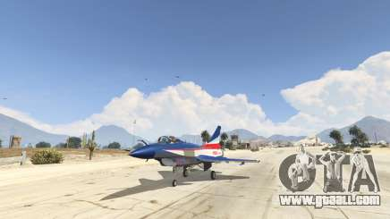 J-10A SY Aerobatic Team for GTA 5