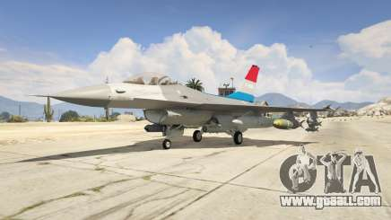 F-16XL USA for GTA 5