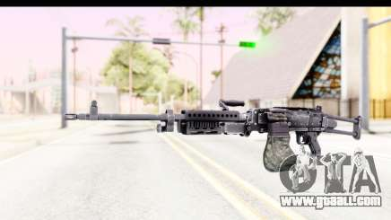 M240 FSK No Attachments for GTA San Andreas