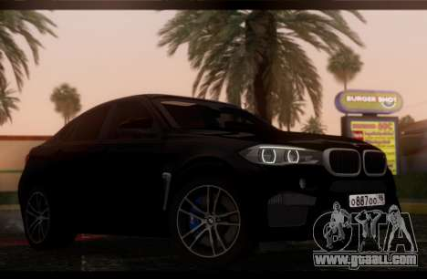 BMW X6M BULKIN SAMP EDITION for GTA San Andreas