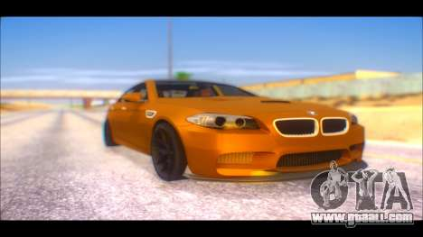 BMW M5 F10 2014 for GTA San Andreas