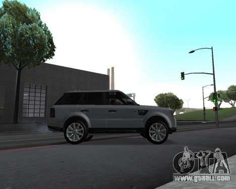 Range Rover Armenian for GTA San Andreas inner view