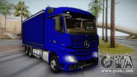 Mercedes-Benz Actros Mp4 v2.0 Tandem Steam for GTA San Andreas