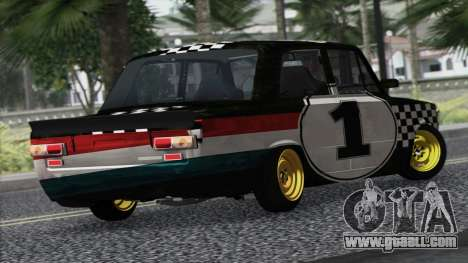 VAZ 2101 is a Racing Car for GTA San Andreas left view