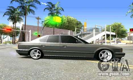 BMW 535i E34 for GTA San Andreas left view