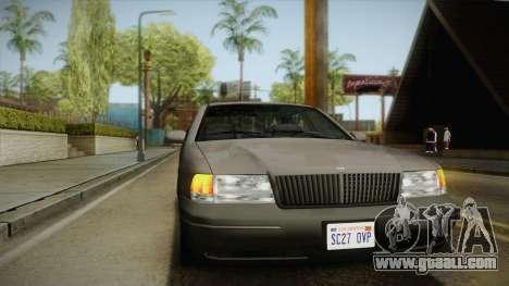 Willard Elegant SA Style for GTA San Andreas side view