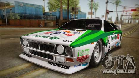 Lancia Rally 037 Stradale (SE037) 1982 IVF Dirt3 for GTA San Andreas back left view