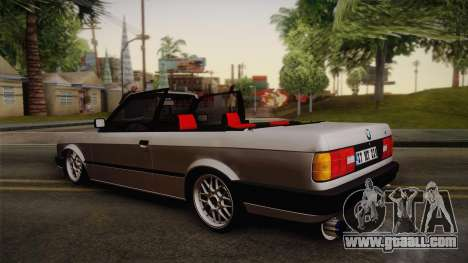 BMW M3 E30 1991 v2 for GTA San Andreas left view