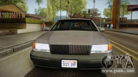 Willard Elegant SA Style for GTA San Andreas back left view