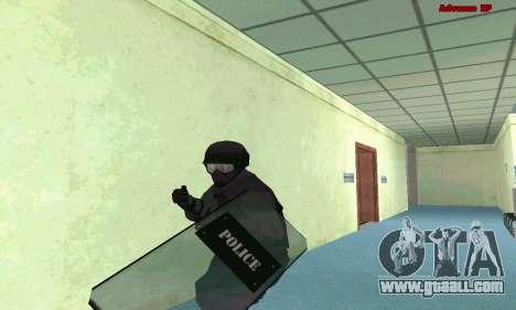 Skin SWAT GTA 5 (PS3) for GTA San Andreas second screenshot