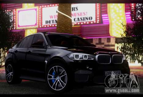 BMW X6M BULKIN SAMP EDITION for GTA San Andreas left view