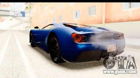 GTA 5 Vapid FMJ SA Style for GTA San Andreas right view