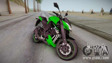 Kawasaki Z1000 2013 for GTA San Andreas