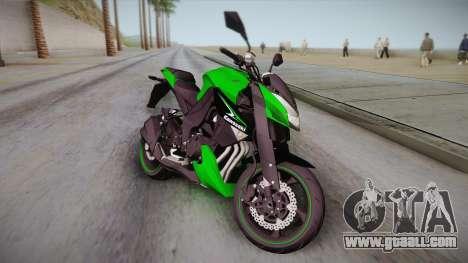 Kawasaki Z1000 2013 for GTA San Andreas