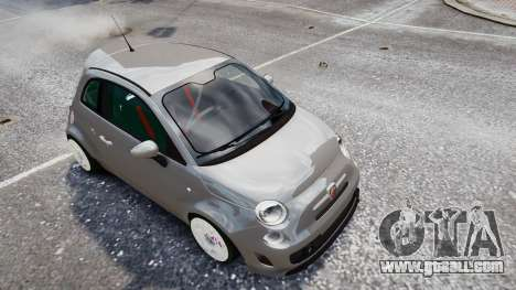 Fiat 500RB for GTA 4 right view