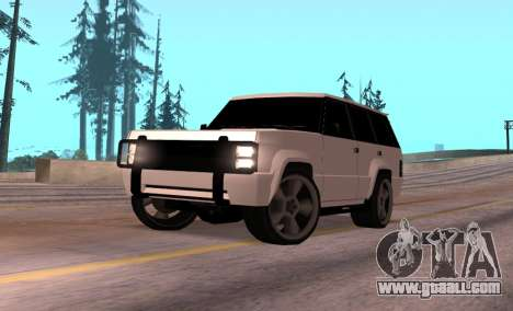 Huntley Rover for GTA San Andreas
