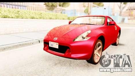Nissan 370Z 2010 for GTA San Andreas