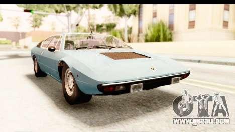 Lamborghini Uracco P300 39 for GTA San Andreas
