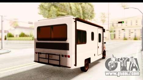 GTA 5 Camper for GTA San Andreas left view