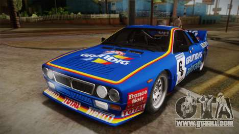Lancia Rally 037 Stradale (SE037) 1982 IVF Dirt3 for GTA San Andreas right view