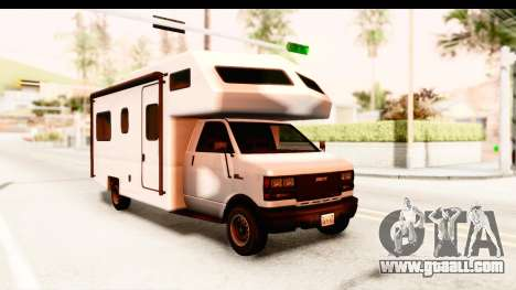 GTA 5 Camper for GTA San Andreas back left view